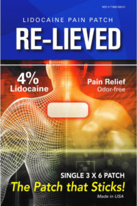 Re-Lieved-Lidocaine-Patch