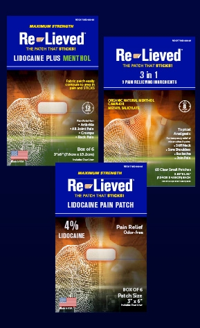Re-Lieved Pain Patches